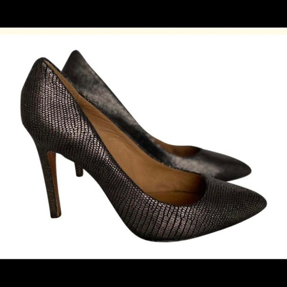 COACH Brown & Black Heels / Size 11